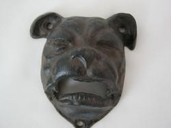 Öntöttvas fali sörnyitó kutya