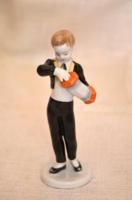 Hollóházi harmonikás fiú
