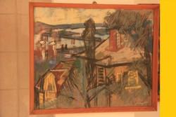Szilvásy Pál - Nagybányai házak