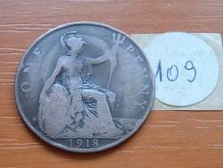 ANGLIA ANGOL 1 PENNY 1918 109.