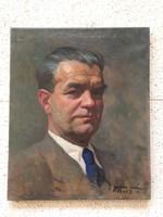 Gábor Móric portré