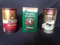 Fém Kávésdobozok