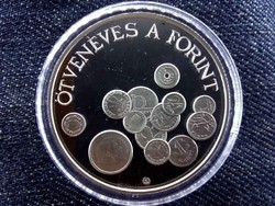 Ötvenéves a Forint ezüst 2000 Forint 1996 BP PP/id 9199/