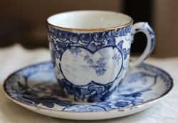 Franz Anton Mehlem Tokio mintás fajansz kávés szett