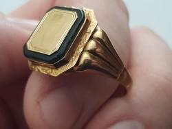 Szép régi arany pecsétgyűrű