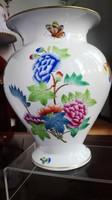 1941-es Ó Herendi Victoria mintás hibátlan porcelán váza