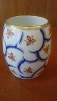 Zsolnay antik kisméretü váza ritka festéssel