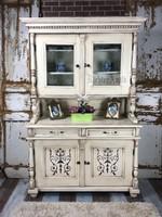 Provence bútor, antikolt tálaló szekrény 1.