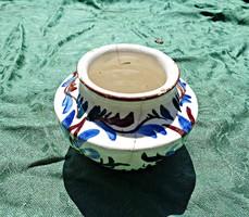 BÉLAPÁTFALVA apró festett, virágos edény