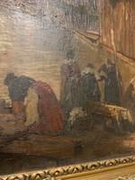 Áralat elado csodálatos olaj festmény gyüjtö darab