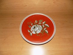 Wallendorf porcelán aranyozott kínáló tál átmérő 26 cm (2p)