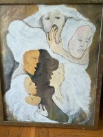 Gerlóczy Sári festmény