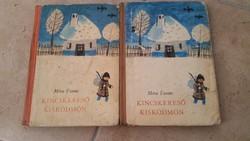 Kincskereső Kisködmön könyv eladó! 2 db