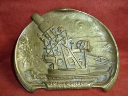 Sárgaréz hamutartó 1914-1916