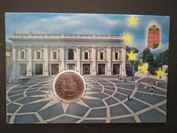 Római szerződés 50 forintos érme első napi veret bliszter díszcsomagolás 2007