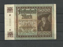 1922-Német 5000 márka