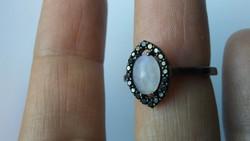 Holdkő 925 gyűrű (56)