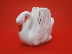 Nagyon szép porcelán hattyú madár