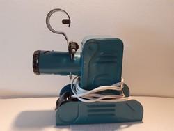 Retro fém vetítő kék diavetítőgép régi diavetítő