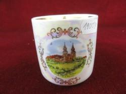 Ostthüringer Porzelanwerke Könitz - német porcelán. Lüsztermázas ajándék bögre.