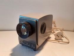 Retro Etude-2c fém vetítő vintage diavetítőgép régi diavetítő