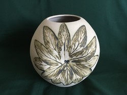Bod Éva kerámia gömb váza 25 cm