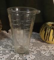 Retro üveg mérőedény a legjobb