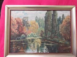 Szignózott festmény