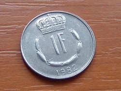 LUXEMBURG 1 FRANK 1982   #