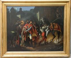 Lents Vilmos: Rákóczi szökése Bécsújhelyről / 1884