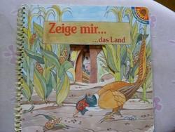 Német nyelvtanulás, mesekönyv kukucskálós állatos gyerekeknek, ajánljon!
