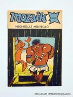 1988 augusztus  /  Mozaik  /  SZÜLETÉSNAPRA! RETRO, RÉGI EREDETI KÉPREGÉNY Szs.:  9923