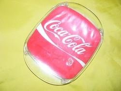 Retro Coca-Cola pénzes tálca, presszóbol