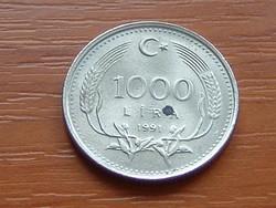 TÖRÖK 1000 LÍRA 1991 #