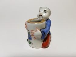 Óherendi mini mandarin porcelán figura