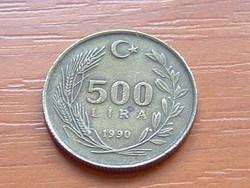 TÖRÖK 500 LÍRA 1990 #