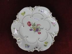 LJMENAU porcelán, barokkdíszítésű antik süteményes tányér.