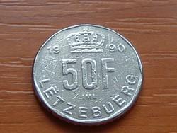 LUXEMBURG 50 FRANK 1990   #