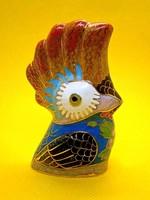 Nagyon ritka, különleges Kínai fém/réz alapon rekesz zománc (Cloissoné) papagáj