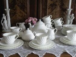 Hófehér Wedgwood teás készlet