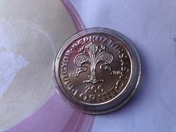 Az első aranyforint ezüst 200 Ft 28 gramm 0,640 gyönyörű érme