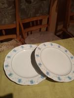 Kínai régi szép lapos tányér párban