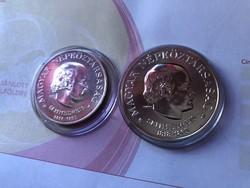 Semmelweis ezüst 50+100 Ft Pár-egyben R