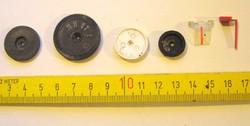 Kis rádió potenciométer forgókondenzátor gombok régiek -GL-20- -régi rádióalkatrészek