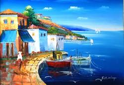 F.H Mimp jelzéssel: Mediterrán kikötő