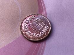 1915 ezüst 1 korona KB ,gyönyörű,karcmentes