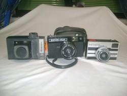 Retro fényképezőgép - három darab - Vilia, Beirette, ...