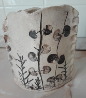 Különleges olasz kerámia váza