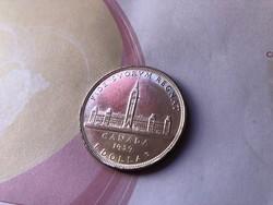 1939 Kanada ezüst 1 dollár 23,3 gramm 0,800 Ritkább
