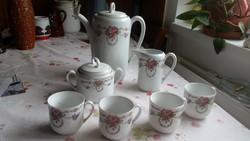 Porcelán teás kávés készlet  eladó!